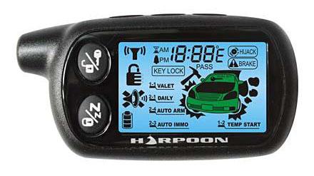 Сигнализация harpoon инструкция h1
