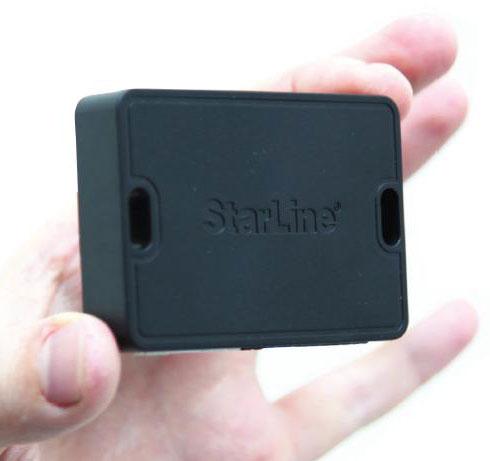 Основной блок GSM-автопейджера StarLine M21.