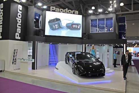 Стенд Pandora на ММАС 2014