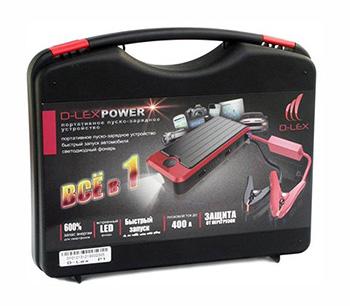 Портативное пуско-зарядное устройство D-Lex Power