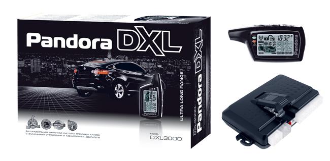 Инструкция к сигнализации pandora dxl