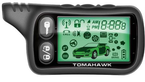 Автосигнализация Tomahawk TZ-