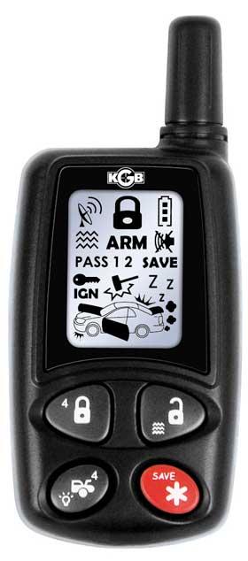 kgb автосигнализация инструкция