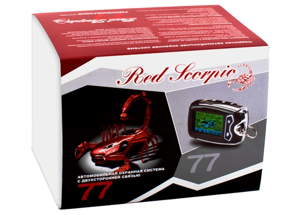инструкция Red Scorpio 77 - фото 4